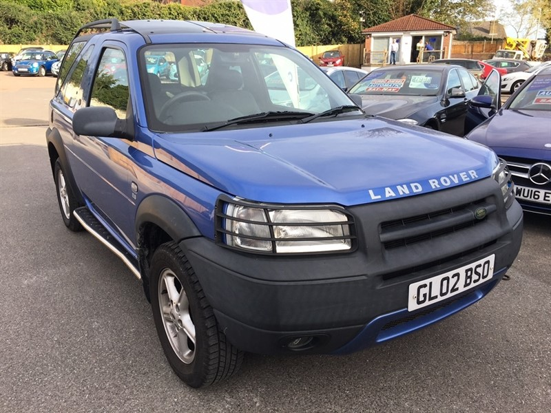 used Land Rover Freelander ES Hard Top 3dr in rochester-kent