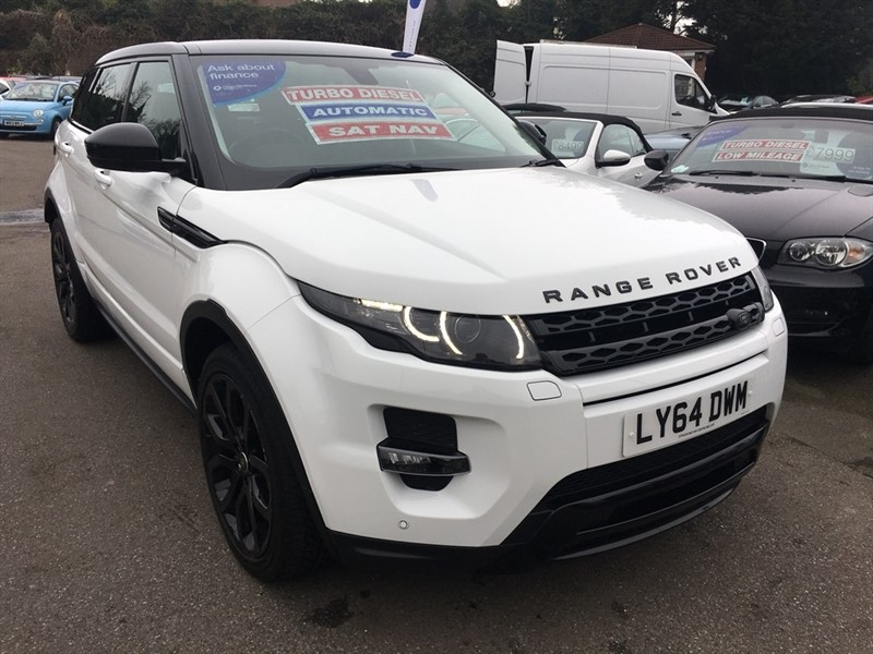 used Land Rover Range Rover Evoque SD4 Dynamic AWD 5dr in rochester-kent