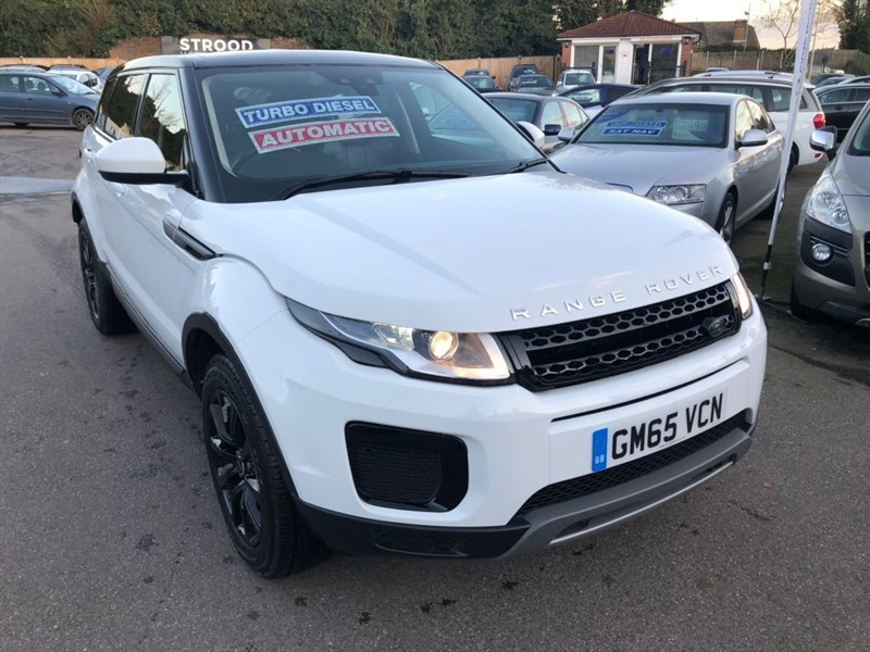 used Land Rover Range Rover Evoque TD4 SE Auto 4WD (s/s) 5dr in rochester-kent