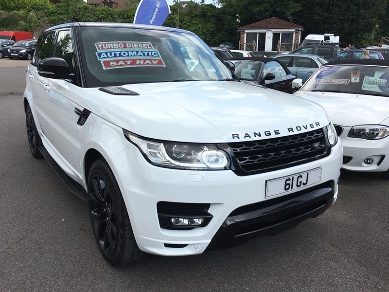 used Land Rover Range Rover Sport SD V8 Autobiography Dynamic 4X4 5dr in rochester-kent