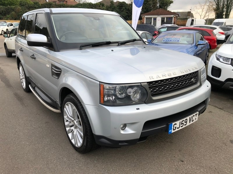 used Land Rover Range Rover Sport TD V6 HSE 5dr in rochester-kent