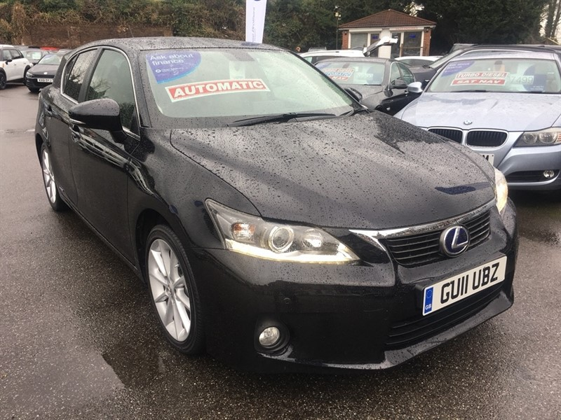 used Lexus CT 200h SE-L CVT 5dr in rochester-kent