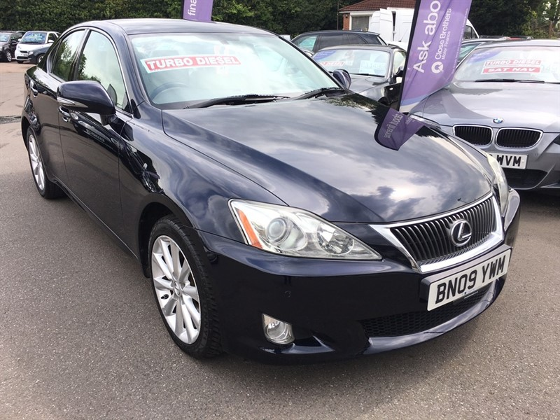used Lexus IS 220d TD SE-I 4dr in rochester-kent