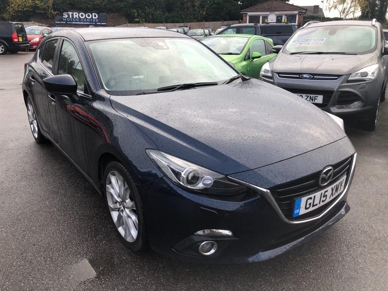 used Mazda Mazda3 SKYACTIV-D Sport Nav in rochester-kent