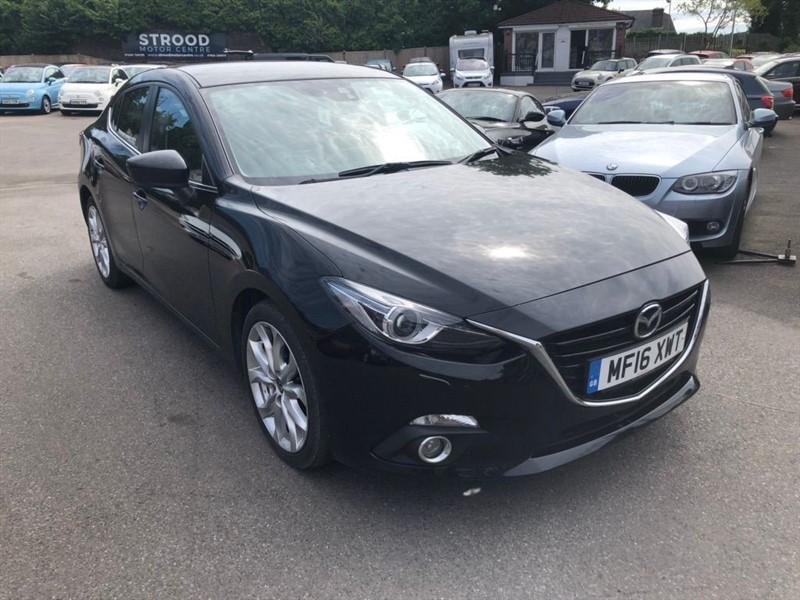 used Mazda Mazda3 SKYACTIV-D Sport Nav (s/s) in rochester-kent