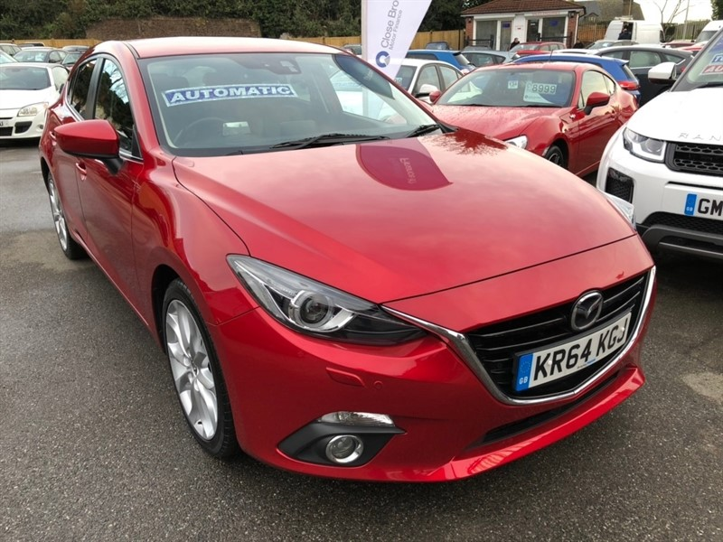used Mazda Mazda3 SKYACTIV-G Sport Nav 5dr in rochester-kent