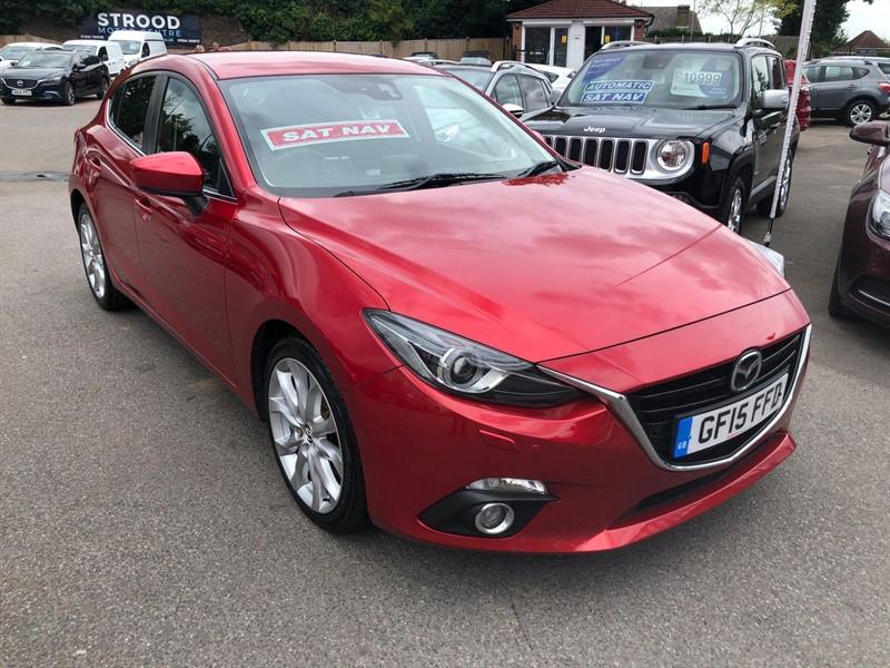 used Mazda Mazda3 SKYACTIV-G Sport Nav in rochester-kent