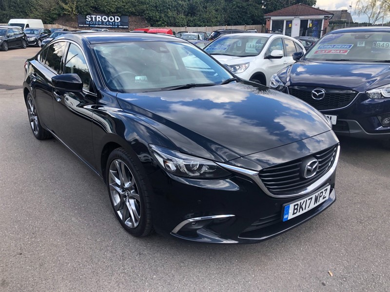 used Mazda Mazda6 SKYACTIV-D Sport Nav Auto (s/s) in rochester-kent