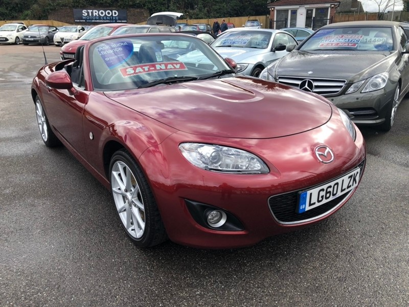 used Mazda MX-5 Sport Roadster 2dr in rochester-kent