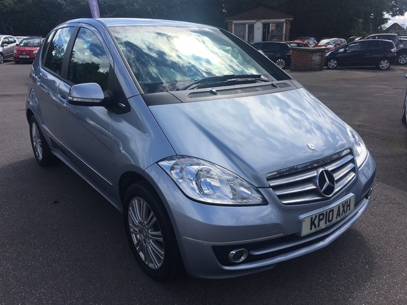 used Mercedes A160 A Class Elegance SE CVT 5dr in rochester-kent