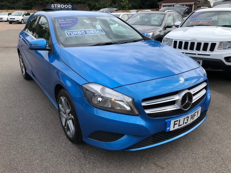 used Mercedes A200 A Class CDI BlueEFFICIENCY Sport 5dr in rochester-kent