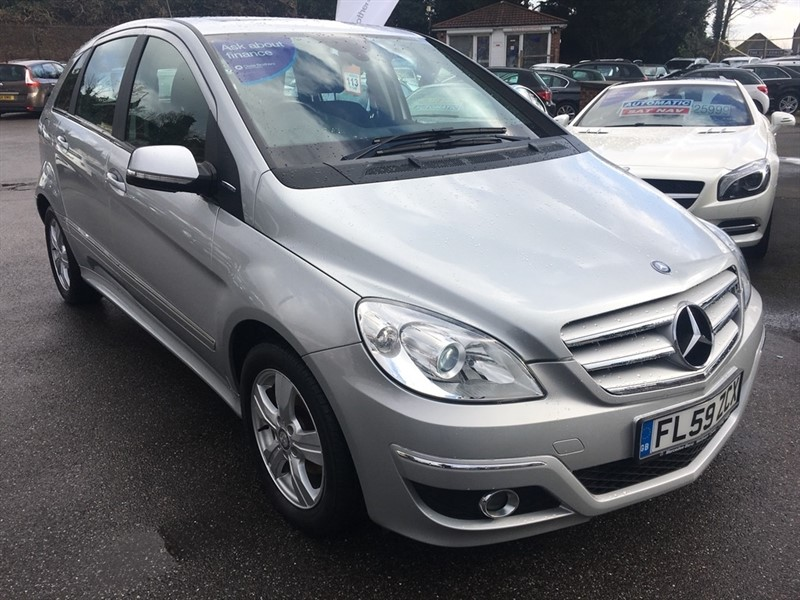 used Mercedes B160 B Class BlueEFFICIENCY SE 5dr in rochester-kent