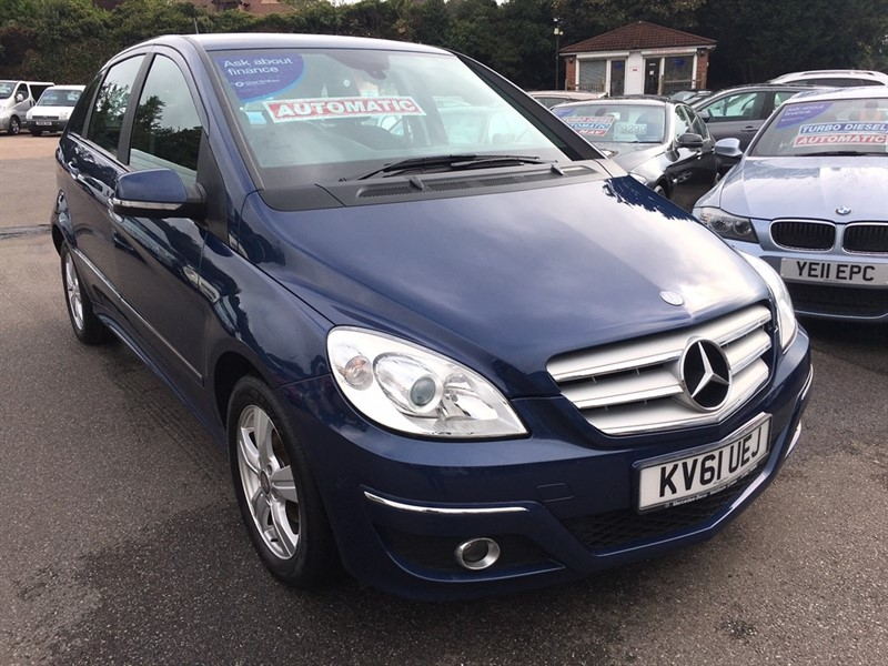 used Mercedes B160 B Class SE CVT 5dr in rochester-kent