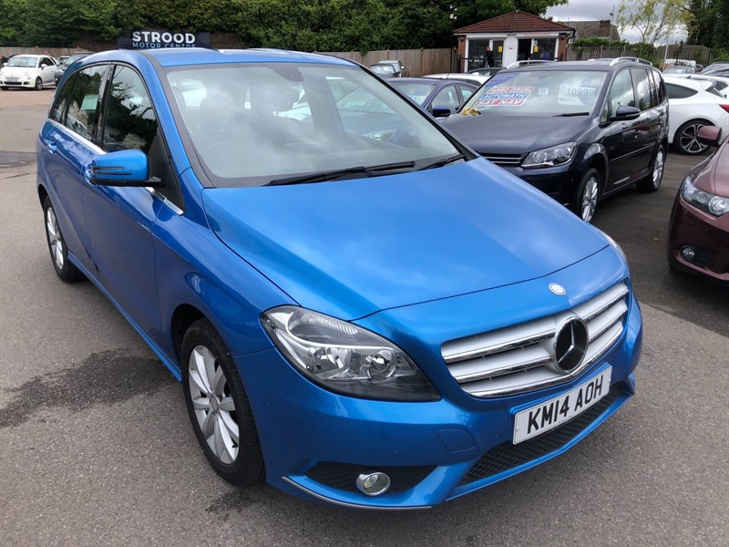 used Mercedes B180 CDI SE 7G-DCT in rochester-kent