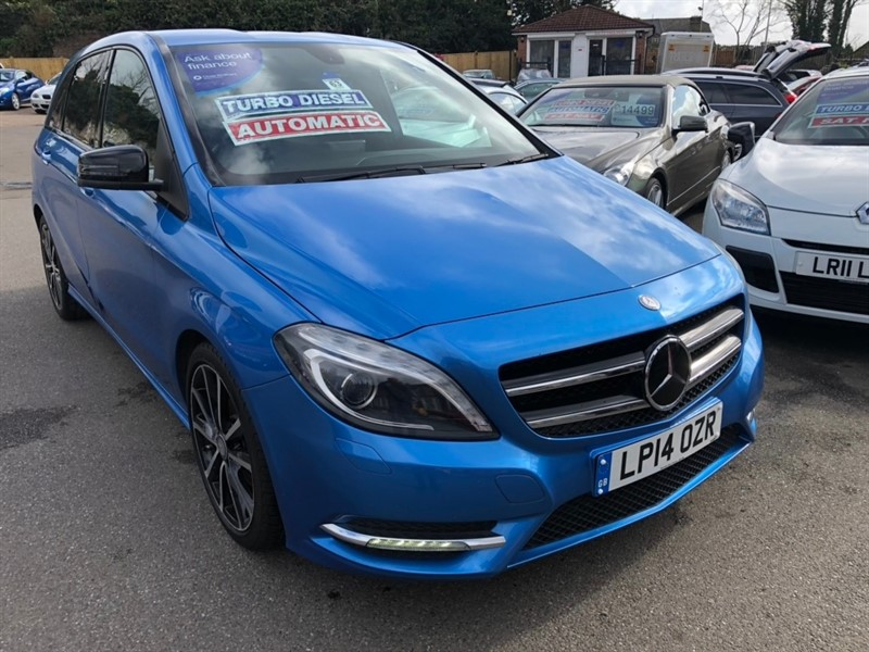 used Mercedes B180 CDI B Class Sport 7G-DCT 5dr in rochester-kent