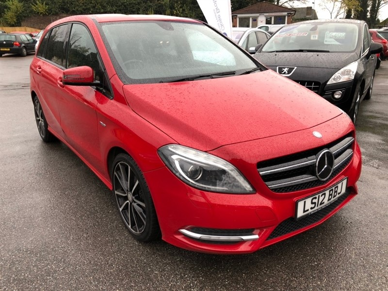 used Mercedes B180 B Class BlueEFFICIENCY Sport 7G-DCT (s/s) 5dr in rochester-kent