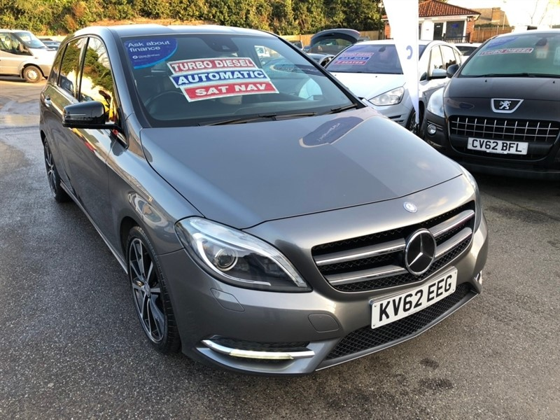 used Mercedes B200 CDI B Class BlueEFFICIENCY Sport 7G-DCT (s/s) 5dr in rochester-kent