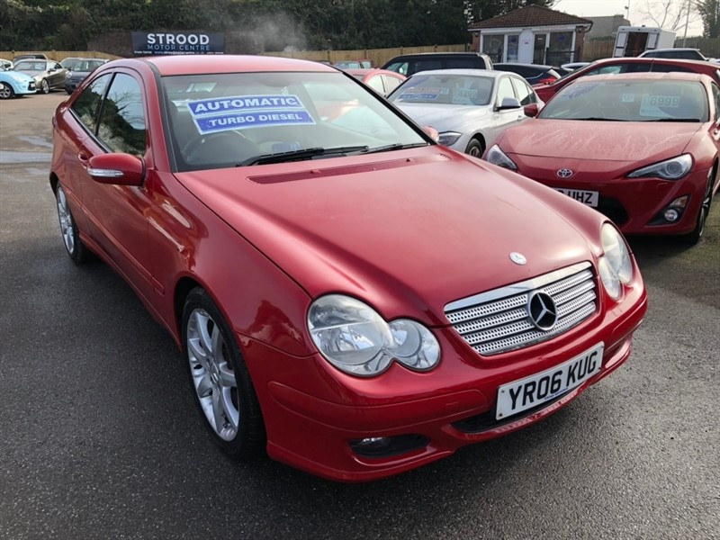 used Mercedes C180 C Class Kompressor SE 2dr in rochester-kent