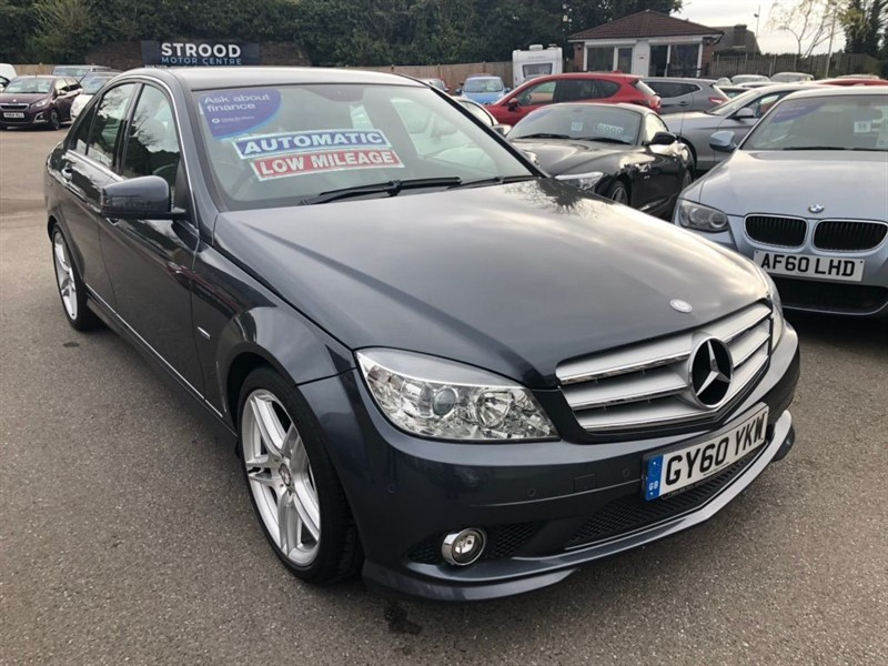 used Mercedes C180 BlueEFFICIENCY Sport in rochester-kent