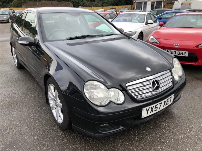 used Mercedes C200 C Class CDI SE 2dr in rochester-kent
