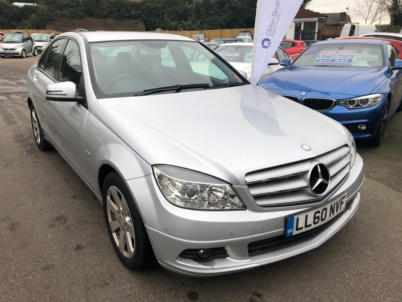used Mercedes C200 C Class CDI BlueEFFICIENCY SE (Executive) 4dr in rochester-kent