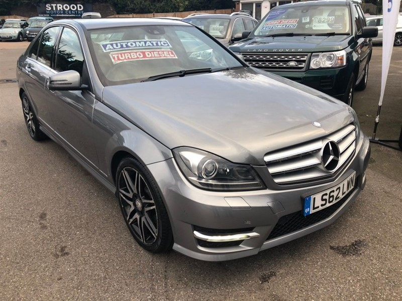 used Mercedes C200 C Class CDI BlueEFFICIENCY AMG Sport Plus 7G-Tronic 4dr (Map Pilot) in rochester-kent