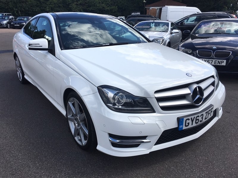 used Mercedes C220 C Class CDI AMG Sport (Premium Plus) 7G-Tronic Plus 2dr in rochester-kent