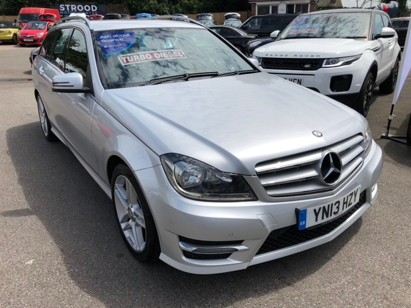 used Mercedes C220 C Class CDI AMG Sport 5dr in rochester-kent