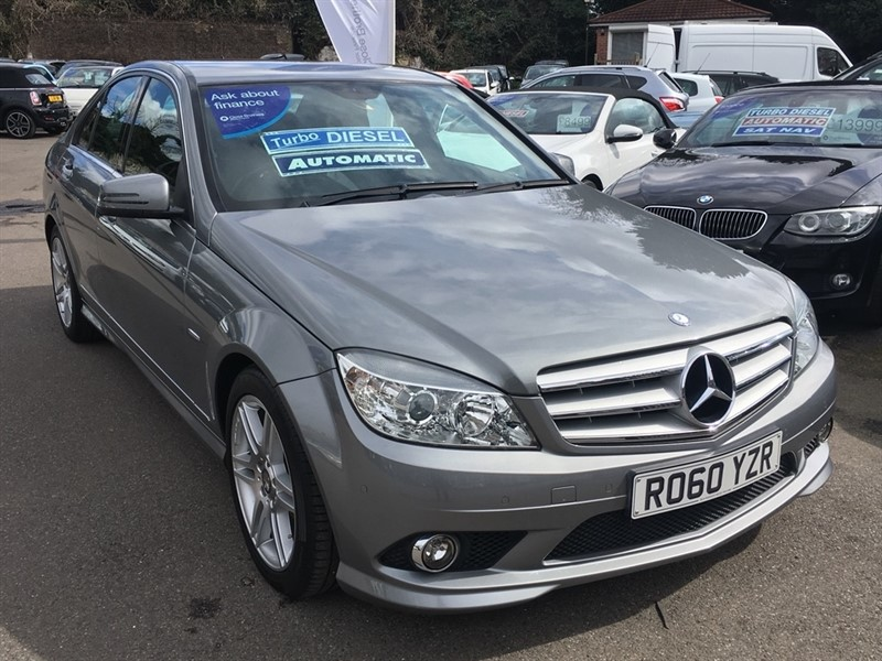 used Mercedes C220 C Class CDI BlueEFFICIENCY Sport 4dr in rochester-kent
