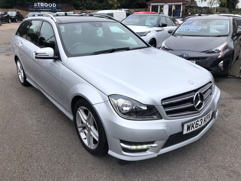 used Mercedes C250 CDI AMG Sport Edition (Premium Plus) 7G-Tronic Plus in rochester-kent