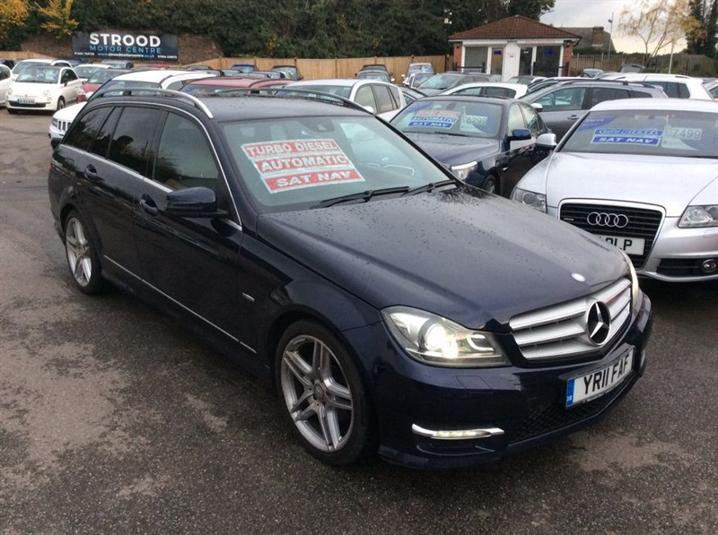 used Mercedes C250 C Class CDI BlueEFFICIENCY Sport G-Tronic 5dr in rochester-kent