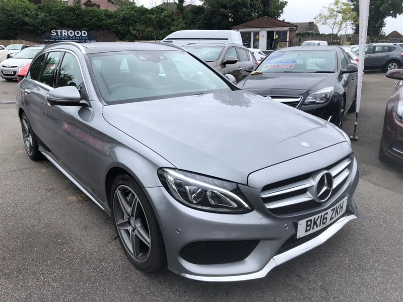 used Mercedes C250 AMG Line (Premium Plus) 7G-Tronic+ (s/s) in rochester-kent