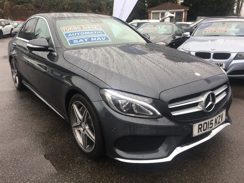 used Mercedes C300 C Class CDI BlueTEC AMG Line Saloon 7G-Tronic Plus 4dr (start/stop) in rochester-kent