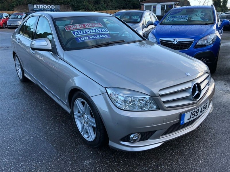 used Mercedes C320 C Class CDI Sport 7G-Tronic 4dr in rochester-kent