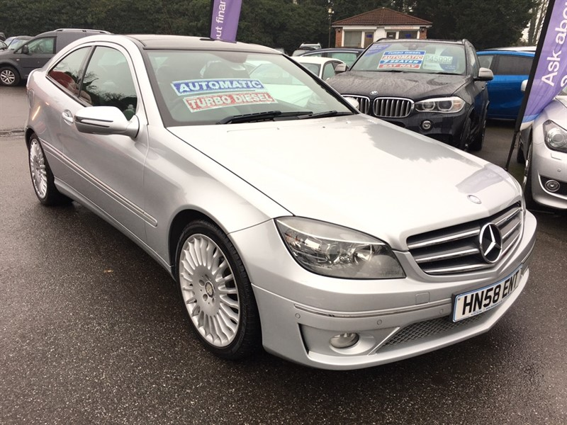 used Mercedes CLC220 CLC Class CDI Sport 2dr in rochester-kent