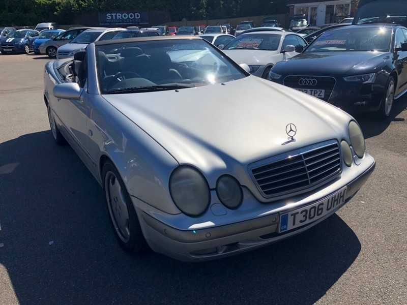 used Mercedes CLK320 CLK Sport Cabriolet 2dr in rochester-kent