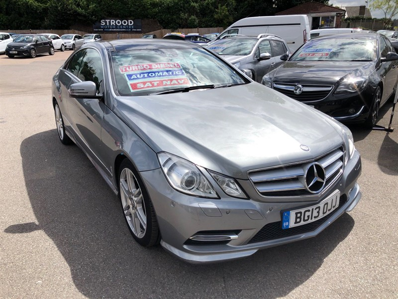 used Mercedes E220 CDI BlueEFFICIENCY Sport G-Tronic in rochester-kent
