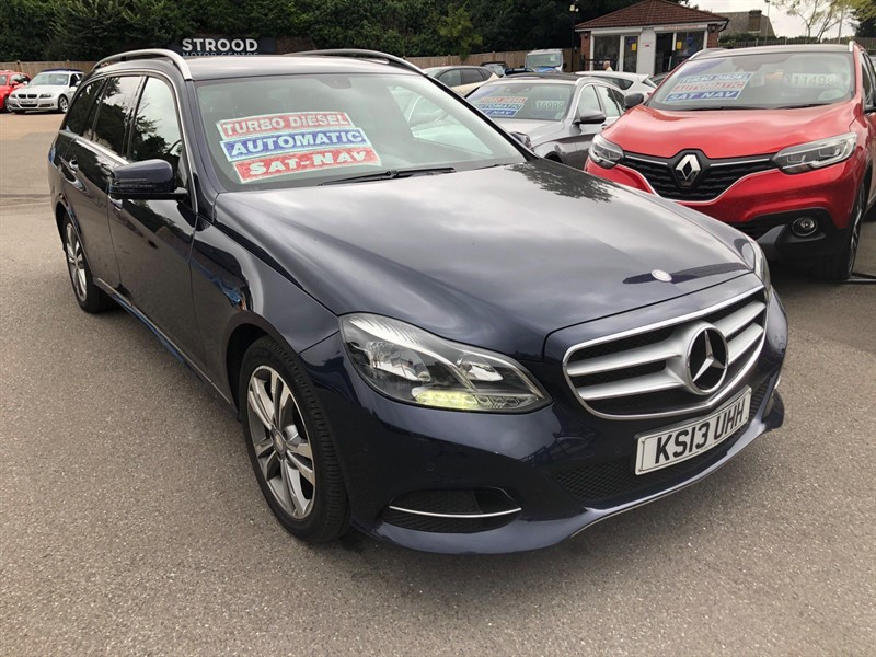 used Mercedes E220 CDI SE 7G-Tronic Plus in rochester-kent