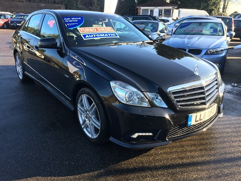 used Mercedes E220 E Class CDI BlueEFFICIENCY Sport 4dr in rochester-kent
