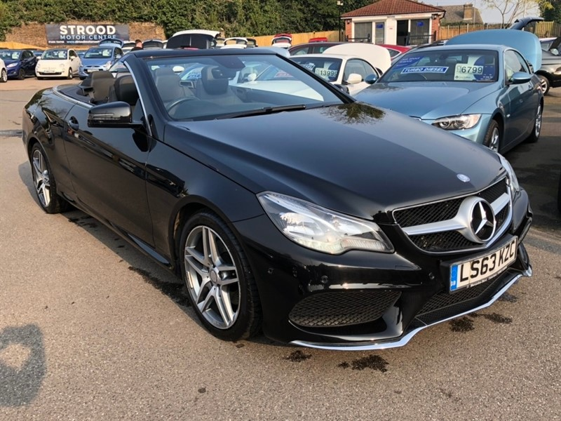 used Mercedes E250 E Class CDI AMG Sport Cabriolet 7G-Tronic Plus 2dr in rochester-kent