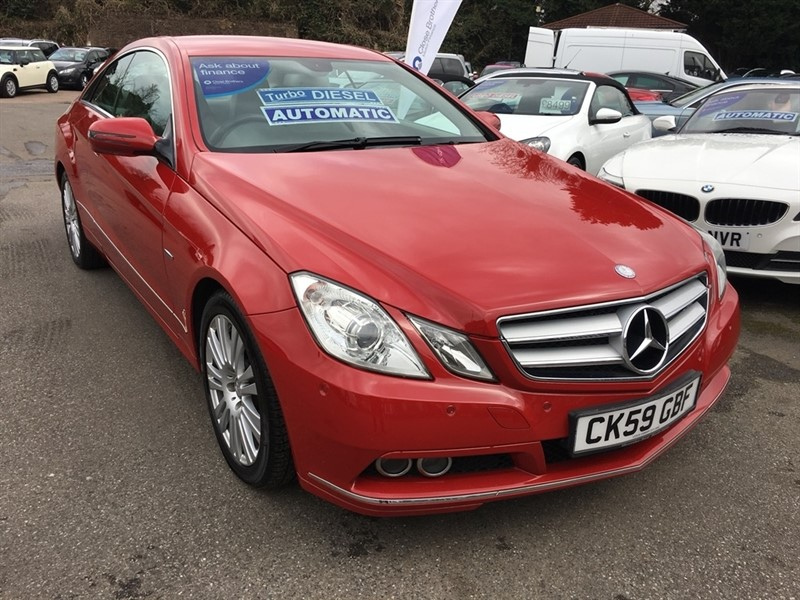 used Mercedes E250 E Class CGI BlueEFFICIENCY SE 2dr in rochester-kent