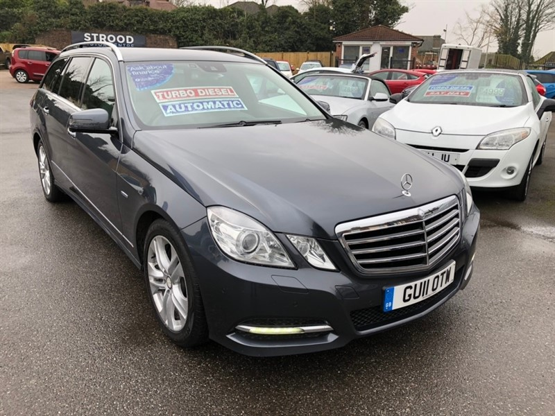used Mercedes E250 E Class CDI BlueEFFICIENCY Avantgarde Auto 5dr in rochester-kent