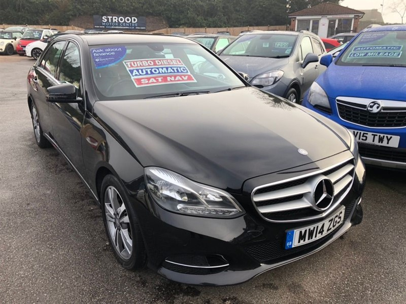 used Mercedes E250 E Class CDI SE 7G-Tronic Plus 4dr in rochester-kent