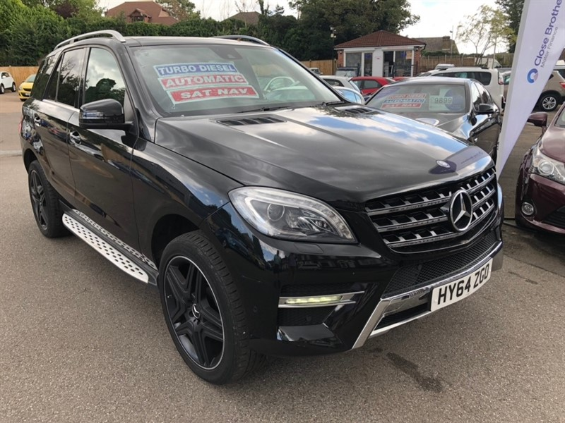 used Mercedes ML350 M Class CDI BlueTEC AMG Line (Premium) 7G-Tronic Plus 5dr in rochester-kent