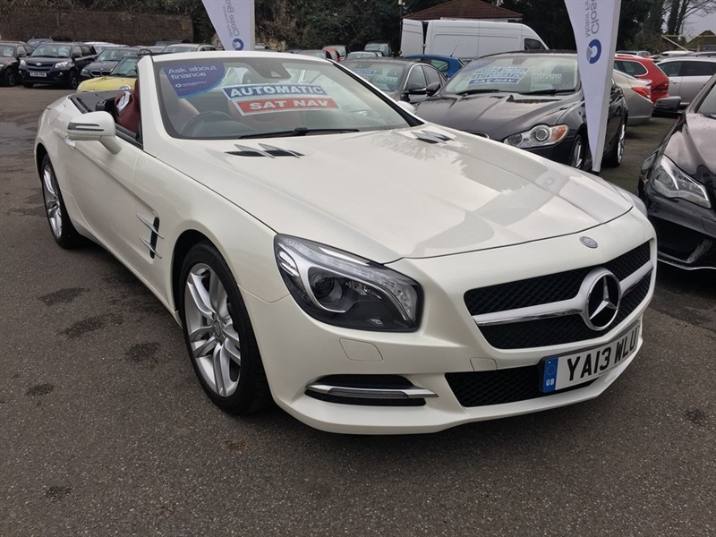 used Mercedes SL Class SL350 BlueEFFICIENCY 7G-Tronic 2dr (start/stop) in rochester-kent
