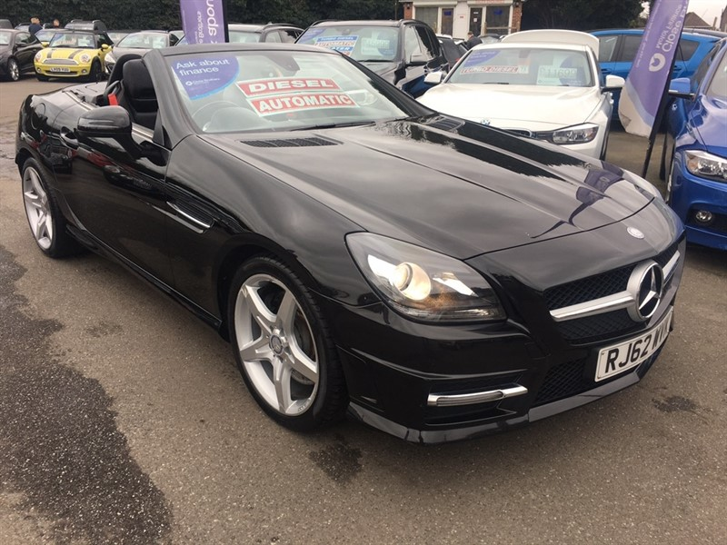 used Mercedes SLK SLK250 CDI BlueEFFICIENCY AMG Sport 7G-Tronic Plus 2dr (start/stop) in rochester-kent