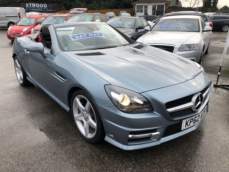 used Mercedes SLK SLK350 BlueEFFICIENCY AMG Sport 7G-Tronic Plus (s/s) 2dr in rochester-kent