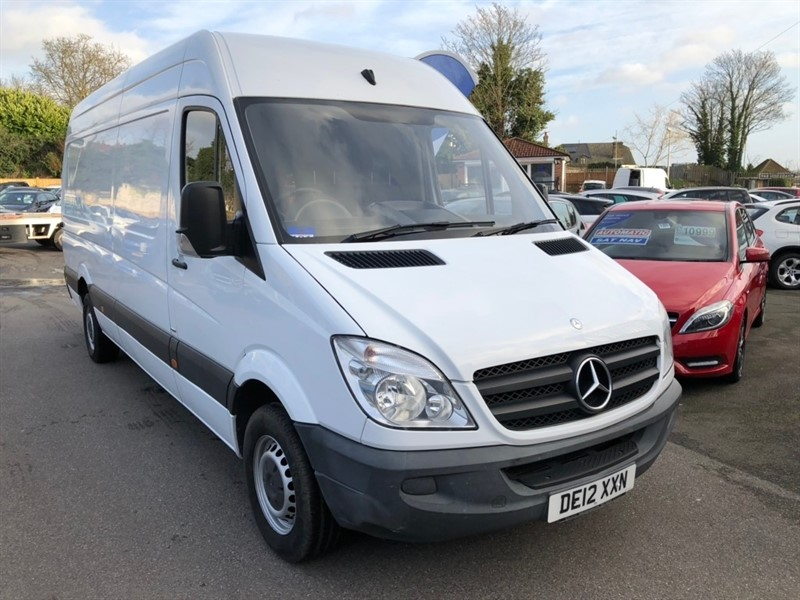 used Mercedes Sprinter CDI 313 High Roof Panel Van 4dr (LWB) in rochester-kent