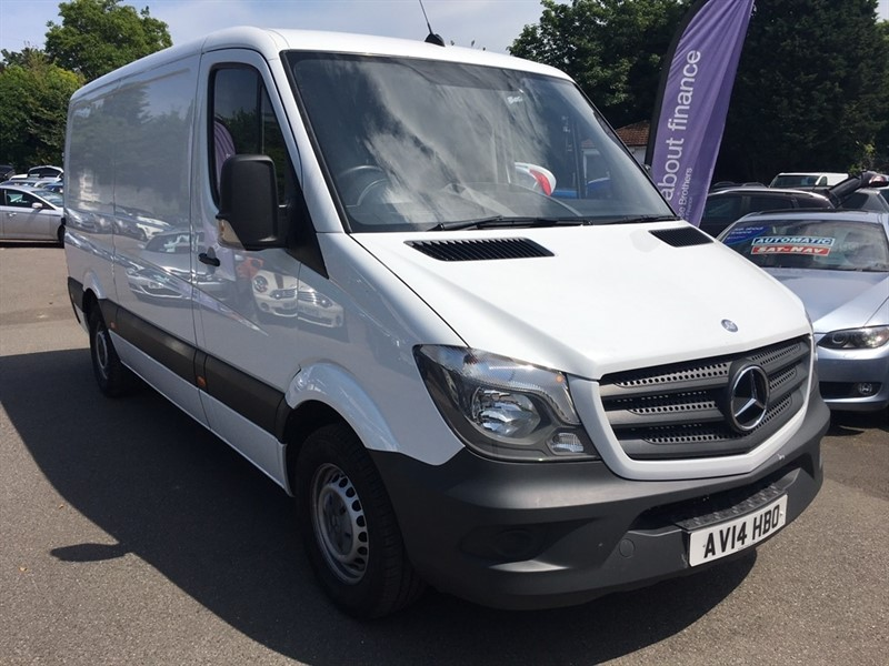 used Mercedes Sprinter CDI 313 4dr MWB in rochester-kent