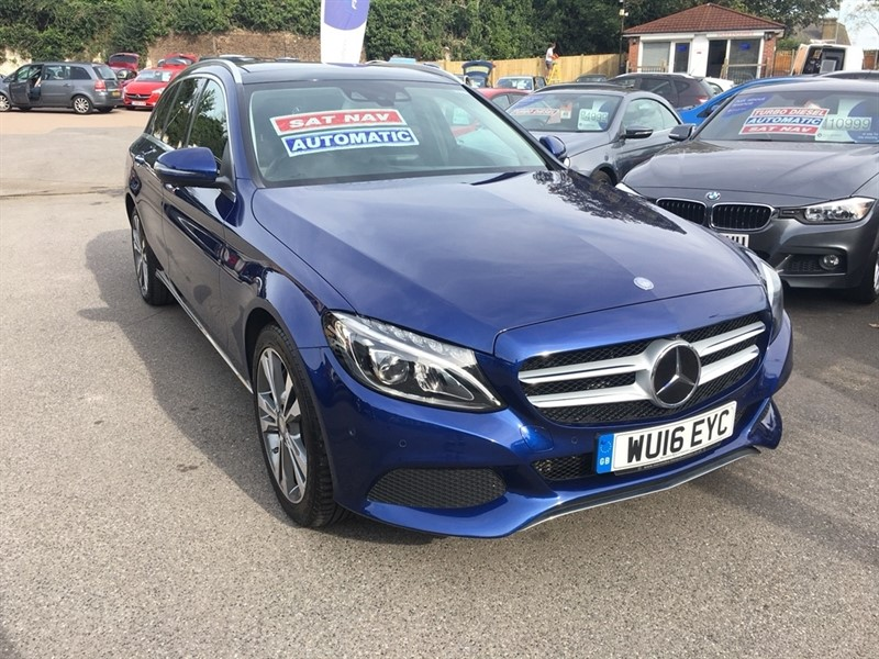 used Mercedes C350 C Class Sport (Premium) Auto 5dr in rochester-kent